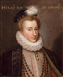 Henry of Bourbon, Jeanne's only surviving son, whom she presented as one of the legitimate leaders of the Huguenot cause.