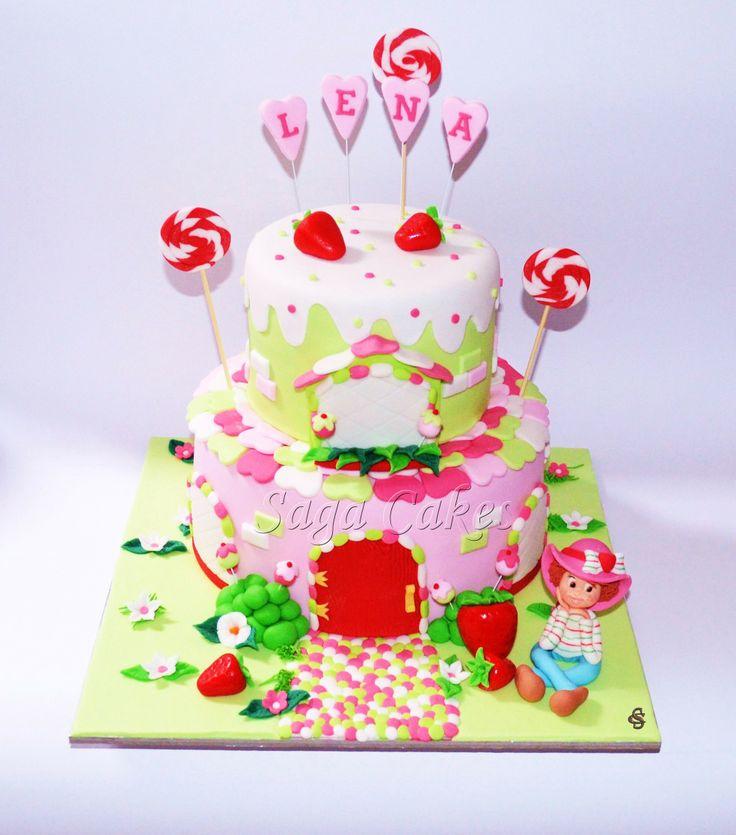 Jagodica Bobica/Strawberry Shortcake https://www.facebook.com/saga.cakes