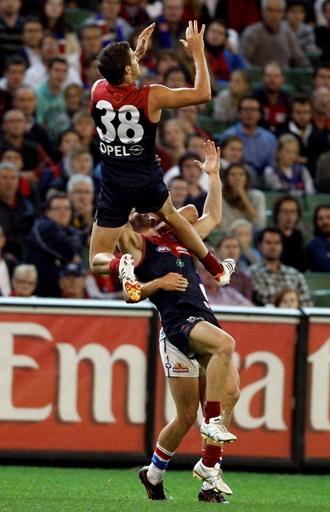 Melbourne Football Club. High mark