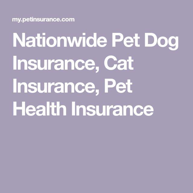 Nationwide Pet Dog Insurance, Cat Insurance, Pet Health           Insurance