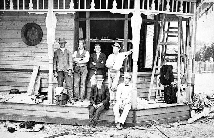 House Under Construction, Oakleigh, Victoria, circa 1915