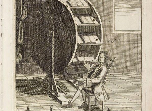 Así eran los ereaders en el siglo XVI