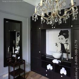 интерьер салона красоты в английском стиле