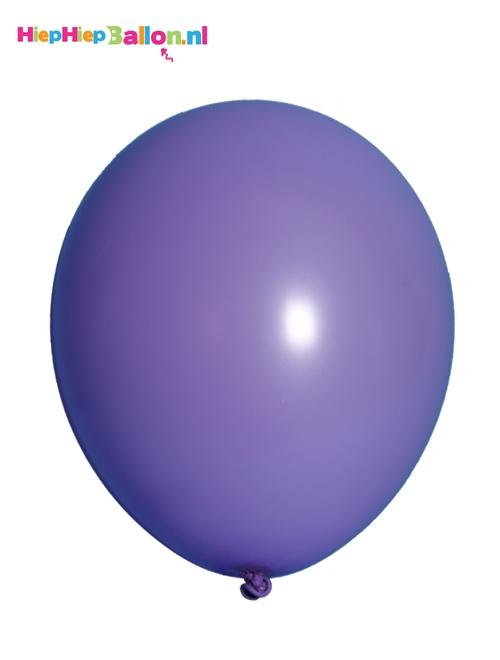 Paarse helium ballonnen met helium maken je feest compleet! www.hiephiepballon.nl