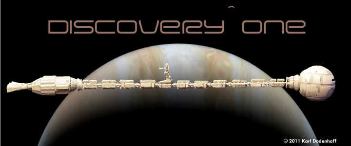 Discovery One  2001 A Space Odyssey  Lunar Models