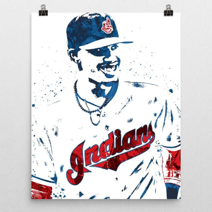 Francisco Lindor Cleveland Indians Poster