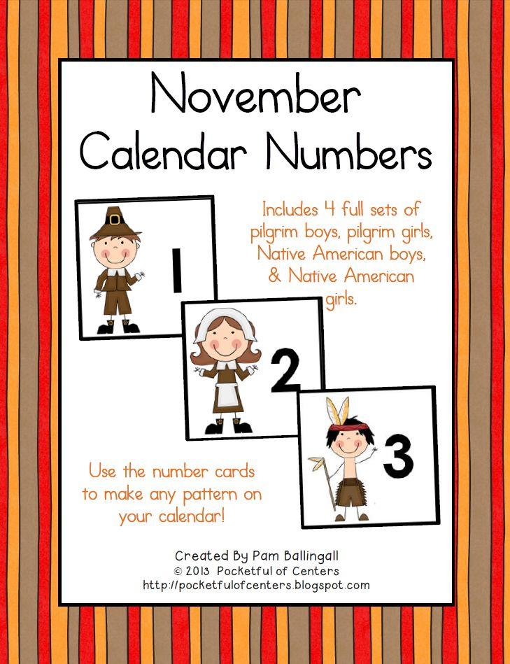 37 best Numerous Number Calendar Cards images on Pinterest