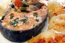 Baked Fish and Vegetables - Kosher Fish Recipe - Jewish Cooking ...