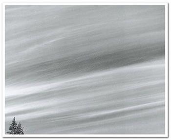 Bob Kolbrener, Stratus Clouds, YNP 1975