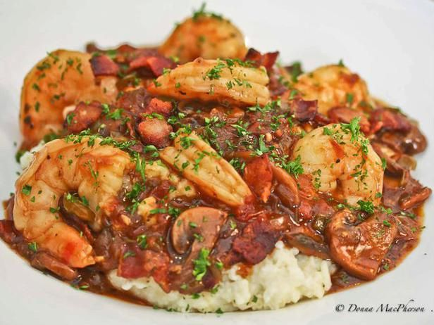 Southern Staples: Rich and Creamy Grits with Shrimp in Red Eye Gravy | Devour The Blog: Cooking Channel's Recipe and Food Blog