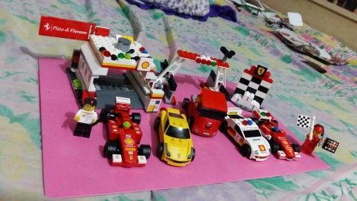 Shell Ferrari Lego