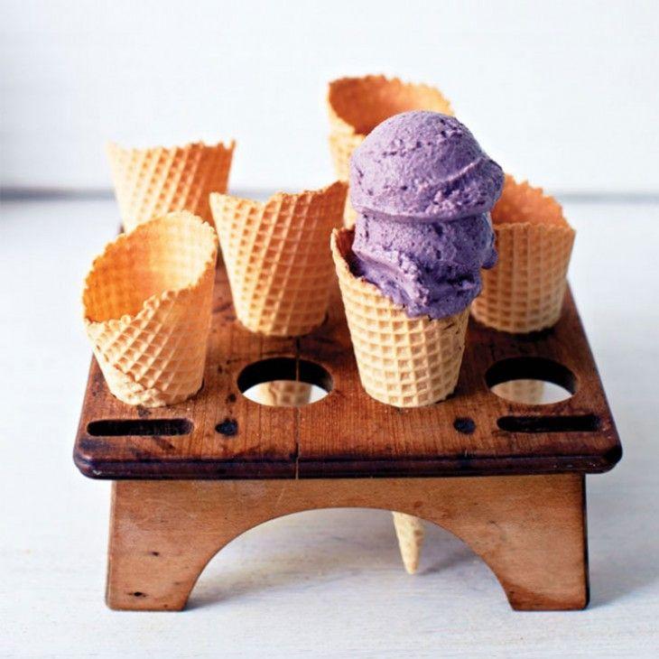 Blueberry Maple Protein Ice Cream