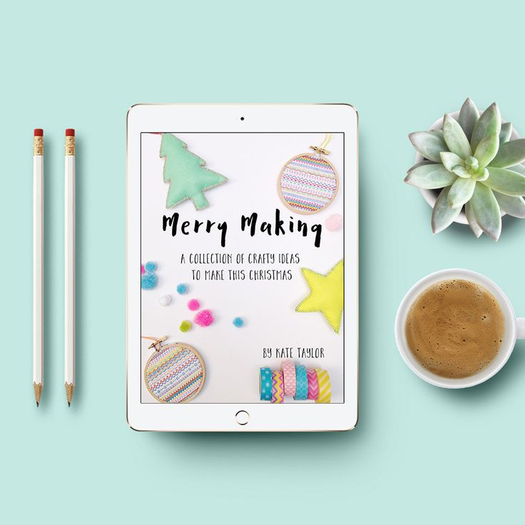 """""""Merry Making"""" Ebook – 20 crafty projects to make this Christmas"""