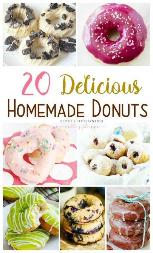 20 Delicious Homemade Donuts | Simply Designing