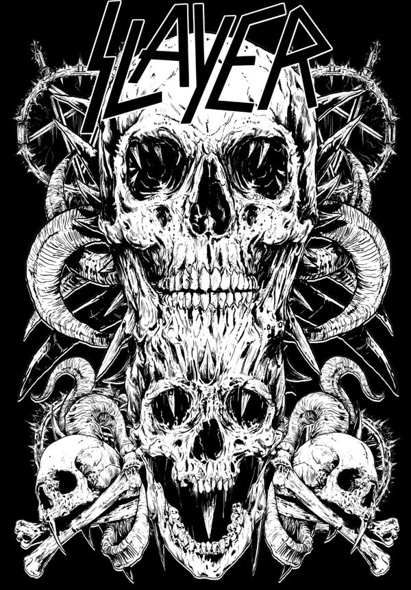 17 best images about slayer on pinterest behance music wallpaper and thrash metal. Black Bedroom Furniture Sets. Home Design Ideas