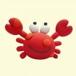 crabClay, Cupcakes, Crabs