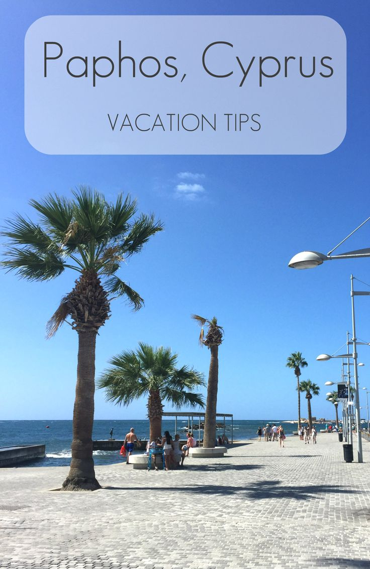 A traveller's guide to Paphos, Cyprus - where to eat, sleep and see the sights!