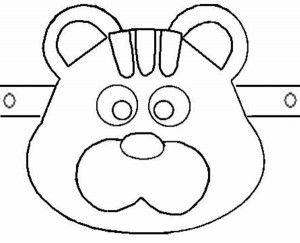 Как сделать маску медведя из картона своими руками