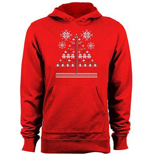 Nintendo 8-Bit Super Mario Christmas Knit Mens & Womens cheap hoodies @ niftywarehouse.com