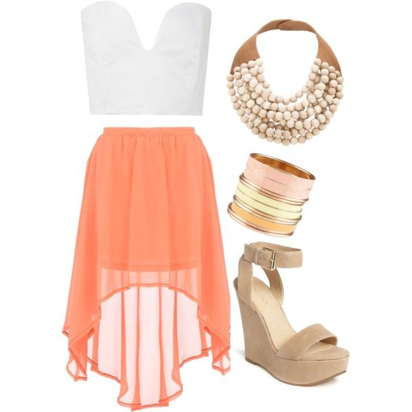 : Colors Combos, High Low Skirts, Dressy Summer Outfits, Late Night, Highlow, Cute Outfits, Night Outfits, Summer Night, Summer Clothing