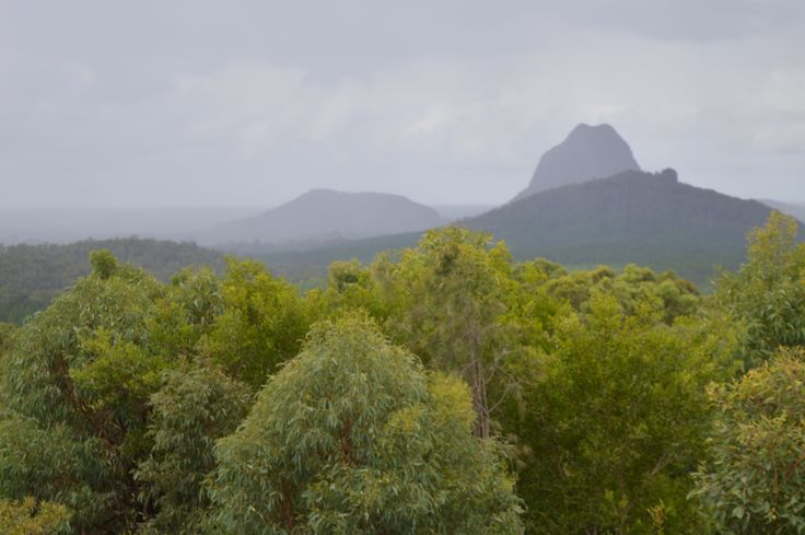 The Glass Mountains, Queensland, Australia