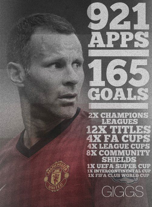 Giggs the Legend. Manchester United. #mufc @Traci Janousek