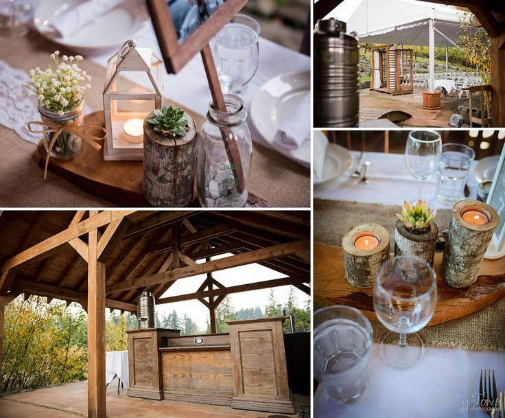 The perfect place to host a rustic-chic, eco friendly wedding