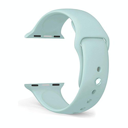FanTEK Apple Watch Band, Soft Silicone Sport Style Replacement iWatch Strap for Apple Wrist Watch 38mm Models S/M Size (Turquoise) https://www.carrywatches.com/product/fantek-apple-watch-band-soft-silicone-sport-style-replacement-iwatch-strap-for-apple-wrist-watch-38mm-models-sm-size-turquoise/  - More Festina ladies watches at https://www.carrywatches.com/shop/wrist-watches-for-women/festina-watches-for-women/