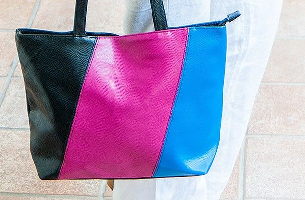 GroopDealz   Color Block Handbags - 3 Styles!