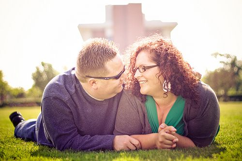 """The """"less-than-photogenic"""" couple's guide to engagement pictures"""