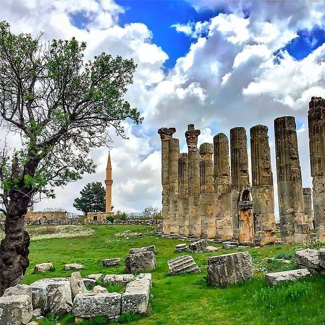 The Temple of Zeus Uzuncaburç in Mersin, according to legend, was built in commemoration of his victory over the massive dragon Typhon!