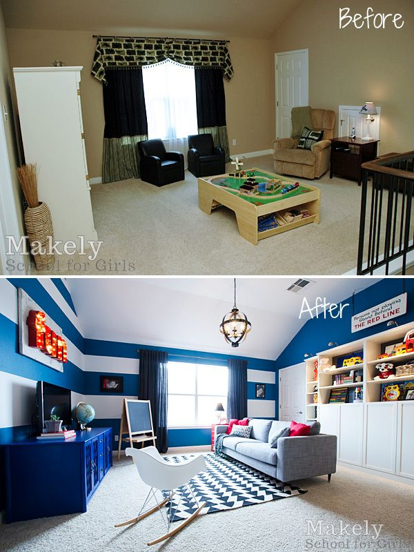 Modern Vintage Inspired Playroom | Makely School for Girls