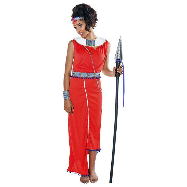 Déguisement Guerrière Tribu Masaï #déguisementsadultes #costumespouradultes #nouveauté2016