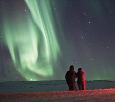 Aurora Borealis @ Akureyri, North Iceland