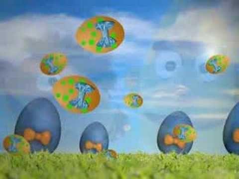 Gele Stippen op een Ei (Het eierlied) - Bert en Ernie hit!