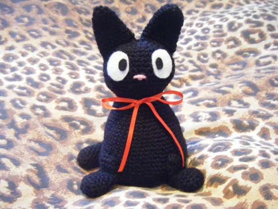 Jiji Amigurumi Free Pattern : 107 best images about Craft: Ghibli on Pinterest Sprites ...