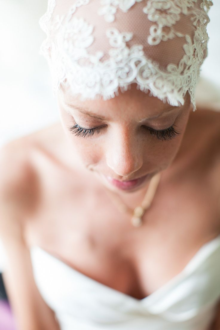 Photography: Andrea Jacobson For The Observatory - observatoryphoto.com  Read More: http://www.stylemepretty.com/2014/05/12/courageous-bride-proves-bald-is-beautiful/