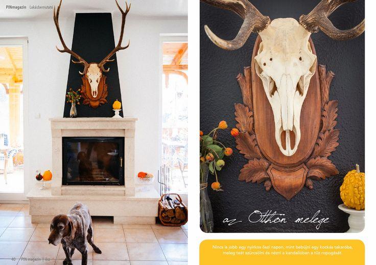 #autumn, #home, #decor, #fireplace ~ PIN MAGAZIN