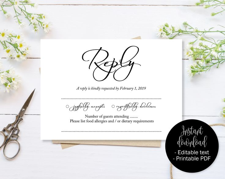 12 best wedding guest information templates to instantly download
