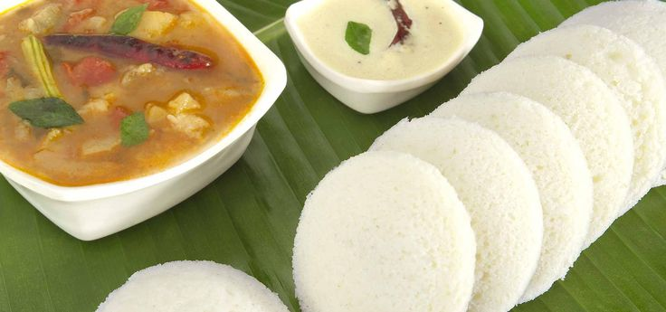 Recipe of  Idli with sambar is mouth-watering recipe. It is a perfect breakfast.  Try this popular dish at your  home.