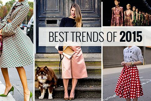 As the year 2015 draws to a close, it's time to say goodbye to these fashion hits and hello to new styles for the new year. From gorgeous ginghams to loose leather pants, here is a quick recap of some of 2015's most popular styles... see more  http://yurn.it/s/1a6