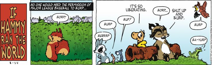 Over the Hedge by T Lewis and Michael Fry for Aug 24, 2017 | Read Comic Strips at GoComics.com