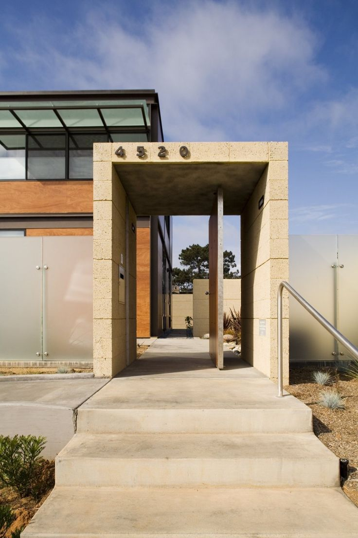 78 best Modern Homes Entrys images on Pinterest Architecture