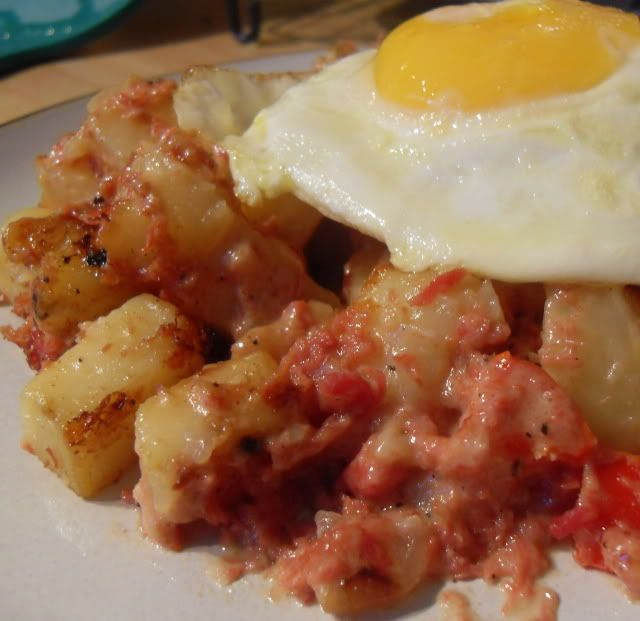 The English Kitchen: Baked Corned Beef Hash