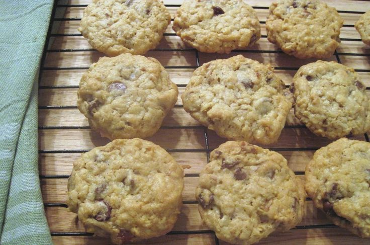 This recipe came to The Times in 2000 during the Bush-Gore presidential campaign when Family Circle magazine ran cookie recipes from each of the candidates' wives and asked readers to vote. Laura Bush's cowboy cookies,