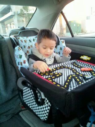 diy kids toddler car seat lap tray for travelling keeps them entertainment for hours for
