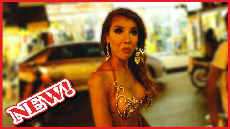 Ladyboys Pattaya Thailand Walking Street 2015