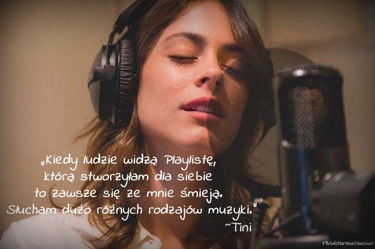 Cytat pochodzi z wywiadu Martiny Tini Stoessel udzielonego dla niemieckiego magazynu Violetta.