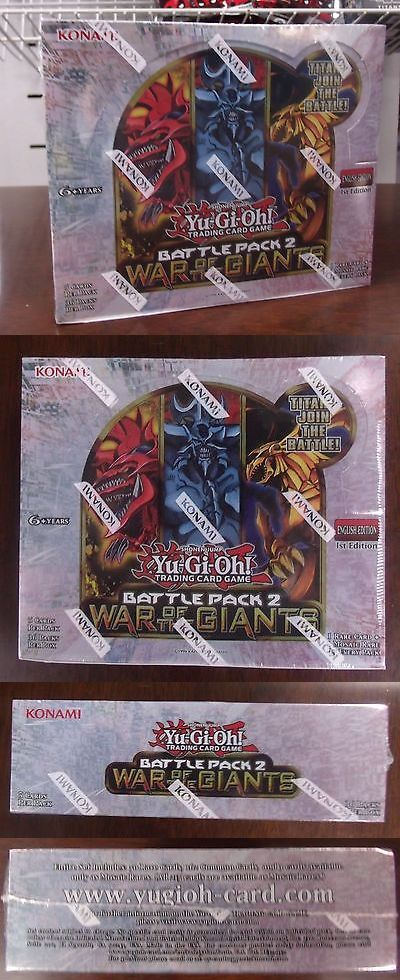 Yu-Gi-Oh Sealed Booster Packs 31396: Konami Yugioh Battle Pack 2 War Of The Giants Booster Box Egyptian God Cards New -> BUY IT NOW ONLY: $64.99 on eBay!