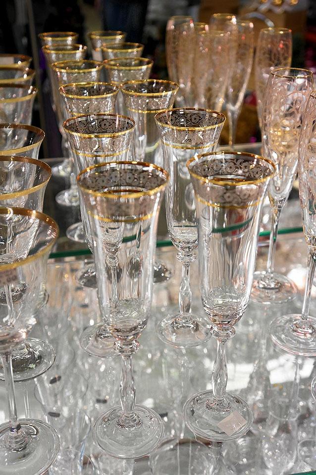 Eleganckie kieliszki na stół wigilijny. #euroszklo #prezenty